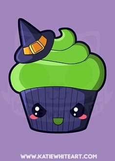 Wicked Witch Cupcake Art Print