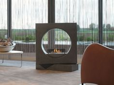Download the catalogue and request prices of outdoor bioethanol fireplace Milano to manufacturer British Fires
