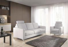 Sofa 3-osobowa z funkcją spania BASIC ET - Etap Sofa, Etap Sofa - Meble Sofa, Couch, Teak, Modern, Furniture, Home Decor, Diet, Products, Living Room