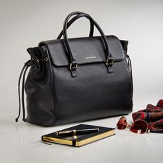 Madison Bucket Bag from Levenger.