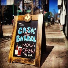 Amazing drinks, food, and atmosphere on beautiful 104 St in Edmonton! Close to Enterprise Square, UAlberta. University Of Alberta, Fun Drinks, Places To Eat, Passport, Barrel, The Neighbourhood, Amazing, Beautiful, Food