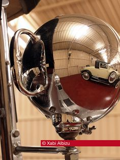Rolls Royce, Phantom II, Phantom 2, Aluminio, Vintage, Reflejo, Espejo, 1930, Wilkinson