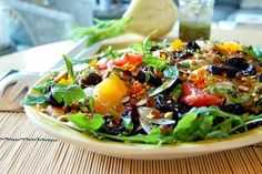 Salade betteraves rôties et agrumes | Julie Aubé
