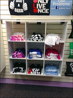 selling t shirts by the crate at college t shirt fixtures and rh pinterest com t shirt sleeves too big t shirt sleeves cutting designs
