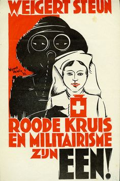 Wijnand Phielix. Red Cross and Militarism Are One! 1932 | Flickr - Photo Sharing!