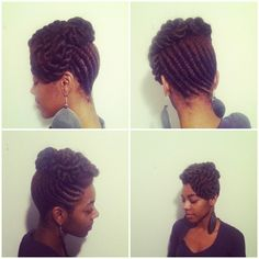 protective hairstyle. good for the winter