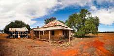 Home Sweet Home Country NSW Australia Neglected country homestead bears the harsh outback conditions.