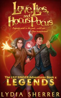 Review: Love, Lies and Hocus Pocus Legends by Lydia Sherrer