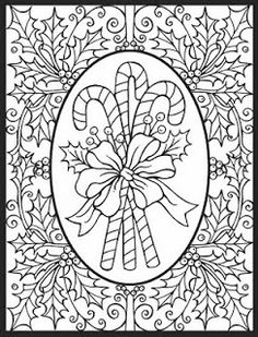 318 Best Adult Coloring Christmas Images In 2019 Coloring Pages