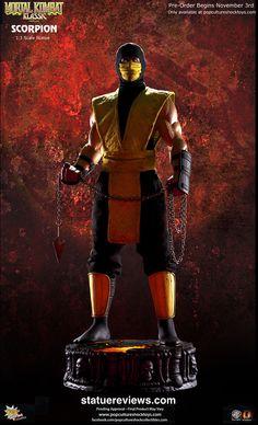 Mortal Kombat Klassic Scorpion Statue by Pop Culture Shock