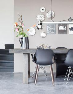 Décor em tons de cinza  #Design #Garimpo
