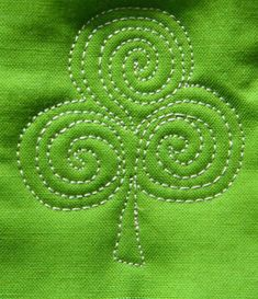 Follow this Shamrock Free Motion Quilting Tutorial to learn how to bring some Irish flair to your next quilting project.