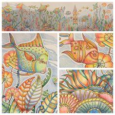 #lostocean #johannabasfordlostocean #johannabasford @johannabasford #coloring #colouring #beautifulcoloring #nossojardimsecreto #colour #nofilter