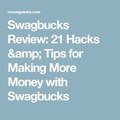33 Best Swagbucks Tips and Tricks images in 2017 | Make