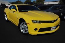 Chevrolet : Camaro 2dr Cpe LS w/1LS LS New 2 dr Coupe Manual 3.6L V6 DIR DOHC 24V BRIGHT YELLOW