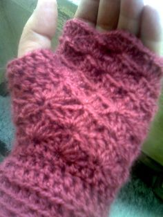 Fingerless mittens pattern free