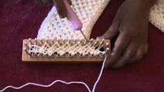 loom knitting - YouTube
