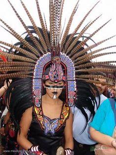 Trajes De Danzantes Aztecas | Fundación de Tenochtitlán / Tenochtitlan Foundation 2007 ( 04-08)