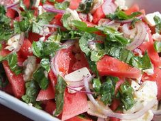 Wicked Watermelon and Feta Salad