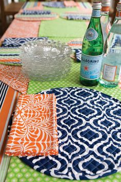 Summer Tablescape by Hen House Linens