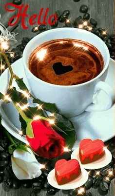 ♡ A alegria de fazer o bem é a única felicidade verdadeira. Good Morning Love Messages, Good Morning Gif, Good Morning Coffee, Good Morning Picture, Good Morning Everyone, Coffee Gif, I Love Coffee, Gif Café, Imagenes Gift