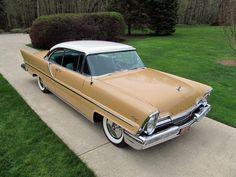 1957 Lincoln Capri Hardtop Coupe. White, over Sandstone Beige.