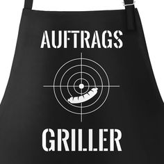 BBQ apron BBQ apron crosshairs for men with saying order grill . - Barbecue apron Barbecue apron crosshairs for men with the saying grills Moonworks® - Grill Apron, Bbq Apron, Barbacoa, Custom Aprons, Aprons For Men, Father's Day Diy, Experience Gifts, Presents For Men, Beer Mugs