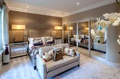 closet -  Alexander James Interiors, ASCOT: LUXURY APARTMENTS - Alexander James Interiors
