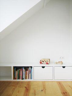 ingebouwde kasten zolder kinderkamer - Google Search