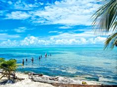 Secluded Beach on Caye Caulker Belize, Fine Art 8 X 12 Print