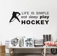 hockey art for boys room - Google Search