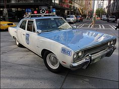 Vintage Seattle 1970 Plymouth police car. Plymouth Satellite 77db160806
