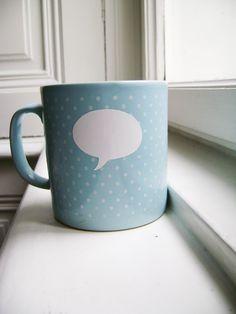 great way to personalize a mug