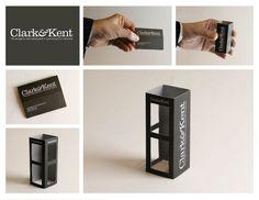 Clark: Phone Booth Business Card