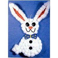 Cotton Ball rabbit