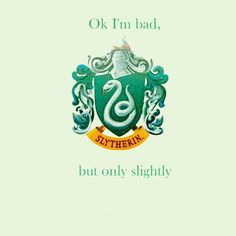SLYTHERIN House Rules For Life