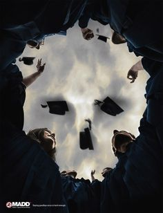 MADD Ad - Mother's Against Drunk Driving: The Skull #ads #marketing #creative #print #advertising <<< repinned by www.BlickeDeeler.de | Follow us on #Facebook > www.facebook.com/BlickeDeeler