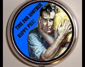 Time For Another Happy Pill Men's Pill Box Case Sweetheartsinner
