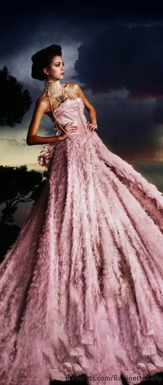 Gorgeous Ball Gown /Galliano 10th anniversary at Dior