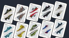 CSS GRID ECOMMERCE LAYOUT Playing card CSS Grid eCommerce layout. - Css Grid, Nike Flyknit Racer, Air Max 97, Ecommerce, Nike Free, Colorful Backgrounds, Playing Cards, Layout, Page Layout