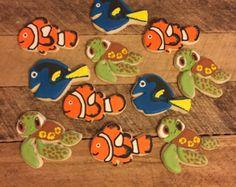 Centro de mesa de encontrar Nemo por TheSkrappyKat en Etsy