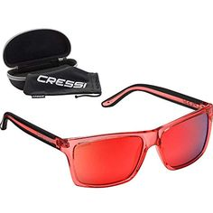 b786bda0f3 Cressi Rio Sunglasses Gafas De Sol Adulto Cristales Polarizados 100%  Anti-UV Unisex Crystal
