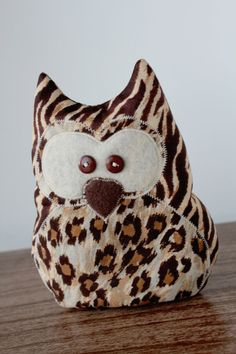Owl Cold Pack  Rice by AmandaJeanCreations on Etsy, $10.00