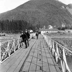 Puente Pio Nono. 1920 Street View, Vintage, Santiago, Old Photography, Historical Photos, Cute Pictures, Antique Photos, Vintage Comics