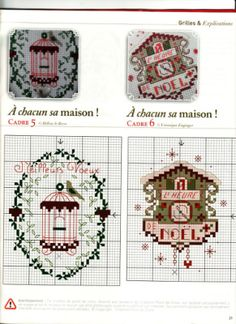 Французские миниатюры вышивка