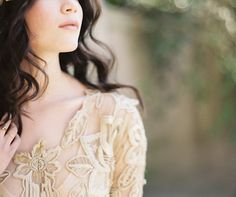 Vintage Wedding Dress Ideas from oncewed.com