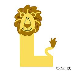 """""""L Is For Lions"""" Letter L Craft Kit. Use your own embellishments to bring these letters to life! dozen per unit) © OTC Preschool Class, Kindergarten Crafts, Preschool Themes, Craft Activities, Letter L Crafts, Alphabet Crafts, Preschool Alphabet, L Is For Lion, Lion Craft"""