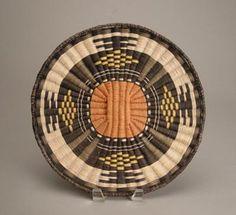Hopi Wicker Plaque, Wedding Manta design