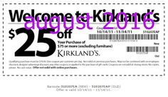 Kirklands Coupons PROMO expires June 2020 Hurry up for a BIG SAVERS Kirklands is a retail chain with more than 300 stores in more than Grocery Coupons, Online Coupons, Dollar General Couponing, Coupons For Boyfriend, Coupon Stockpile, Free Printable Coupons, Love Coupons, Extreme Couponing, Coupon Organization