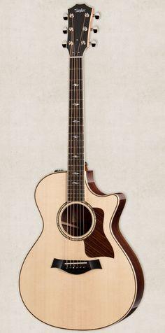 2014 Taylor 812ce Grand Concert Cutaway ES2 Acoustic-Electric Guitar w/OHSC